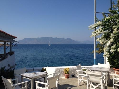 the view from Perdika, Aegina